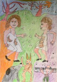 David Klein: drawing for grandkids