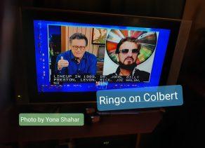 Yona Shahar: Ringo on Colbert
