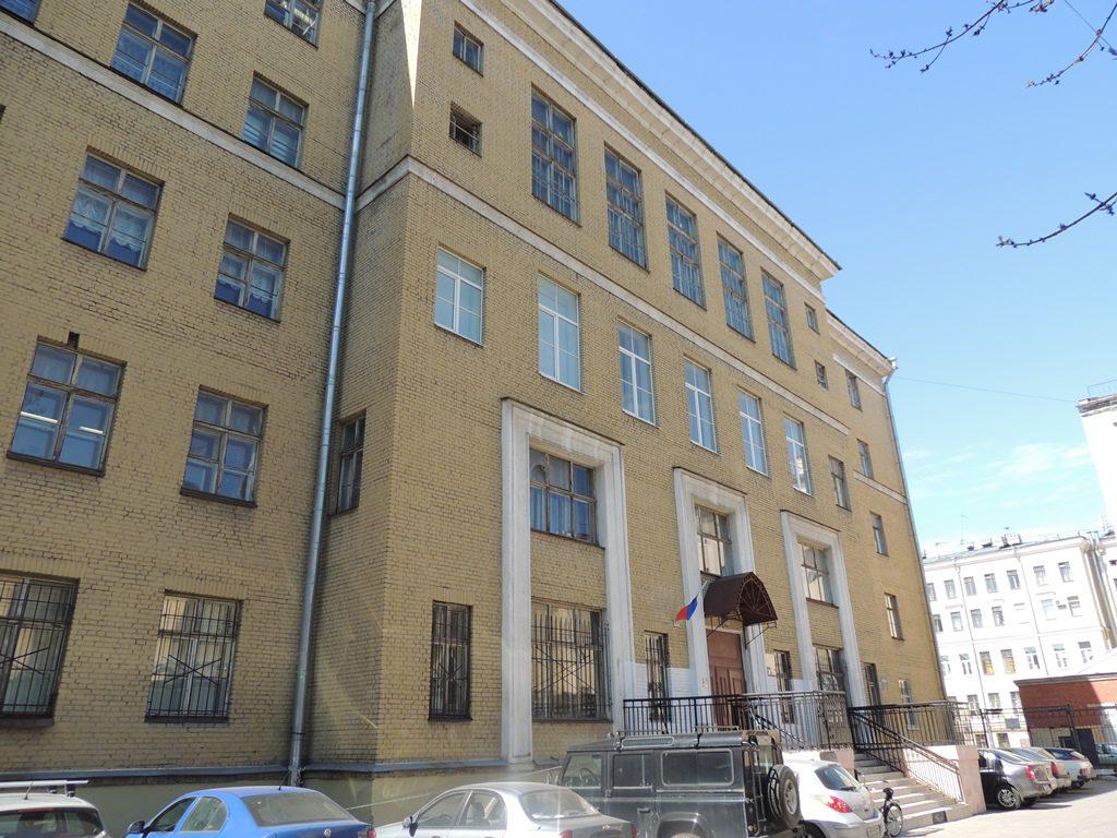 Здание на ул. Правды, д. 8