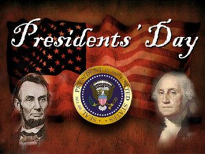 CLOSED - Presidents' Day @ All branches