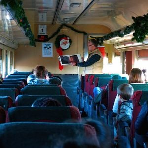 Polar Express Train Ride @ Buckingham Library
