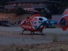 Calstar use of airfield for emergency transport