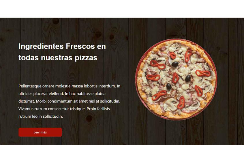 pizzeria ingredientes