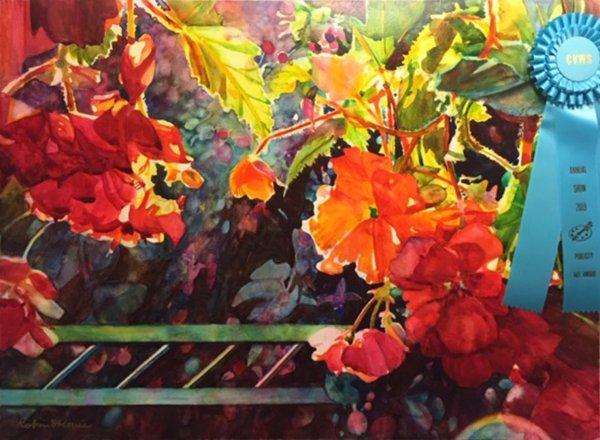 Art Award, Publicity - Robin St. Louis - Warm LIght
