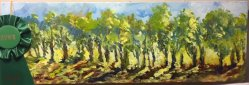 Plein Air Presentation, Honorable Mention - Tracy Hartman - Late Afternoon Lineup - La Quinta