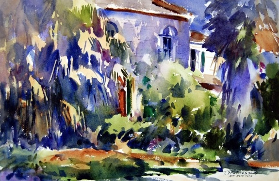 Tom Francesconi - In The Garden District New Orleans