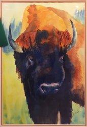 Traditional Presentation, Honorable Mention - Susan Ober - Buffalo Calf