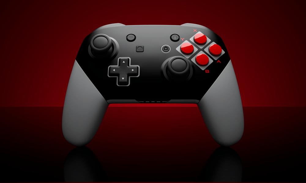 Nintendo Switch Pro Controller 8 Bit Custom Pro Controller