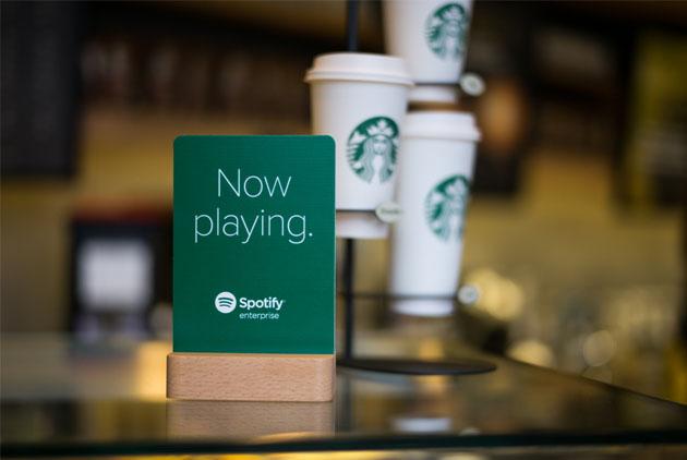 串流音樂跨界拓客源,Spotify與星巴克聯手改造音樂體驗