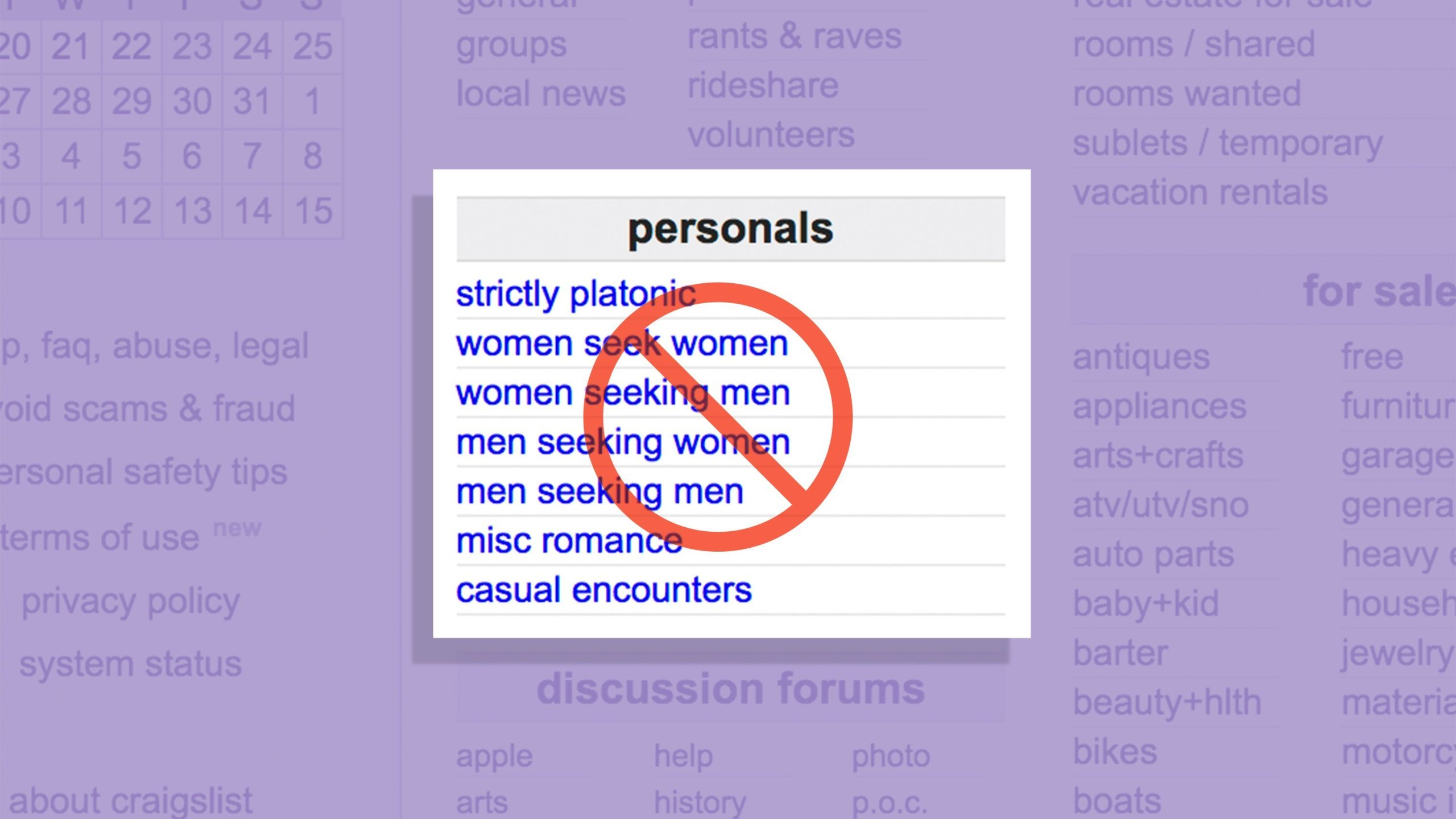 After Craigslist Personals Go Dark Sex Workers Fear What S Next