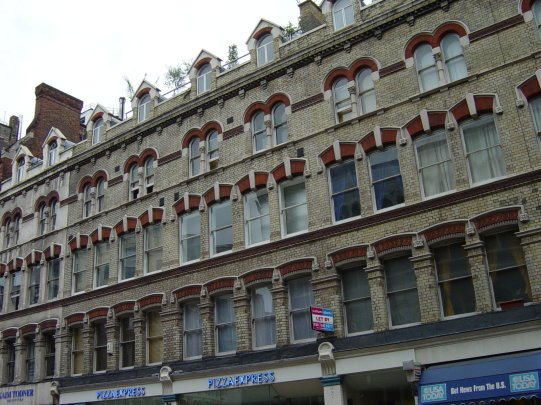 Central London Residential Block, masonry repairs and roof leak detection.