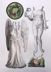 "Femmes fatales, watercolor, 11 x 14"", 2014"