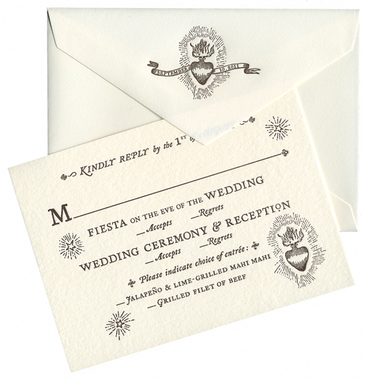 The Simple And Charming Rsvp Card