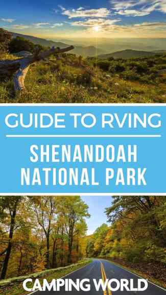 Camping World's guide to RVing Shenandoah National Park
