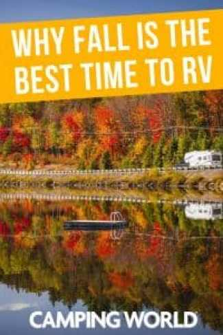 Why fall is the best time to RV