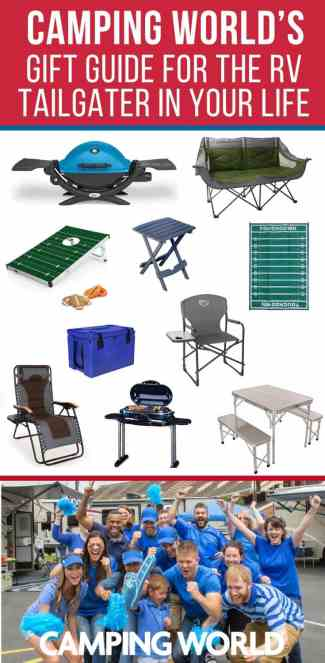 Camping World's gift guide for the RV tailgater in your life
