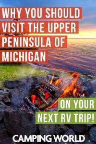 Visit the upper peninsula of Michigan