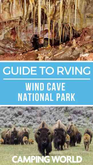 Camping World's guide to RVing Wind Cave National Park