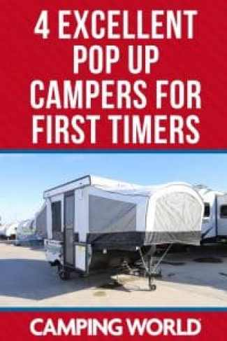 4 Excellent pop up campers for first timers