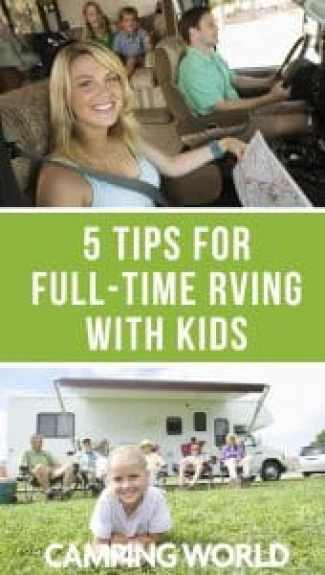 5 tips for full-time RVing with kids