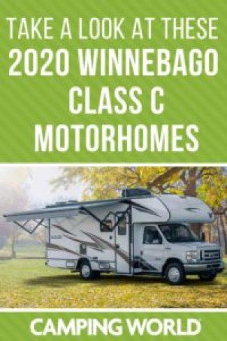 Every Winnebago Class C motorhome for 2020