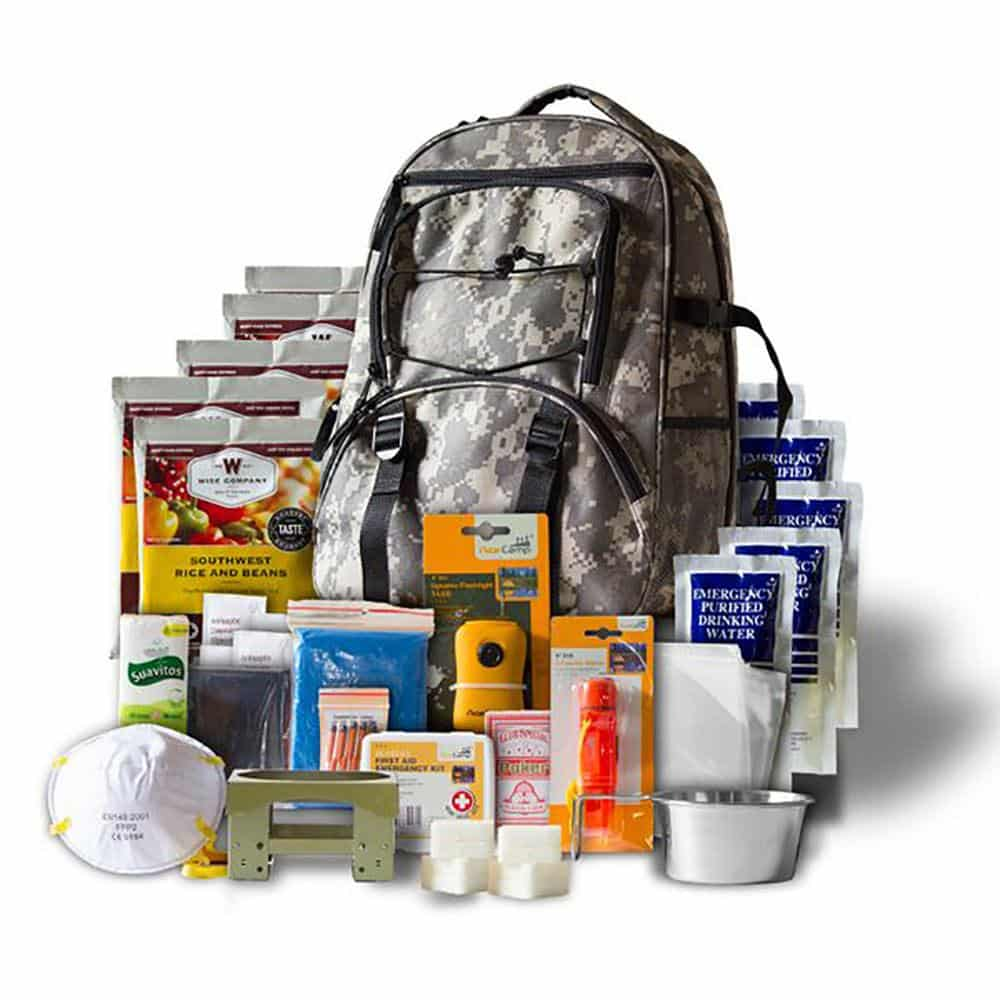 5 Day Camo Survival Backpack