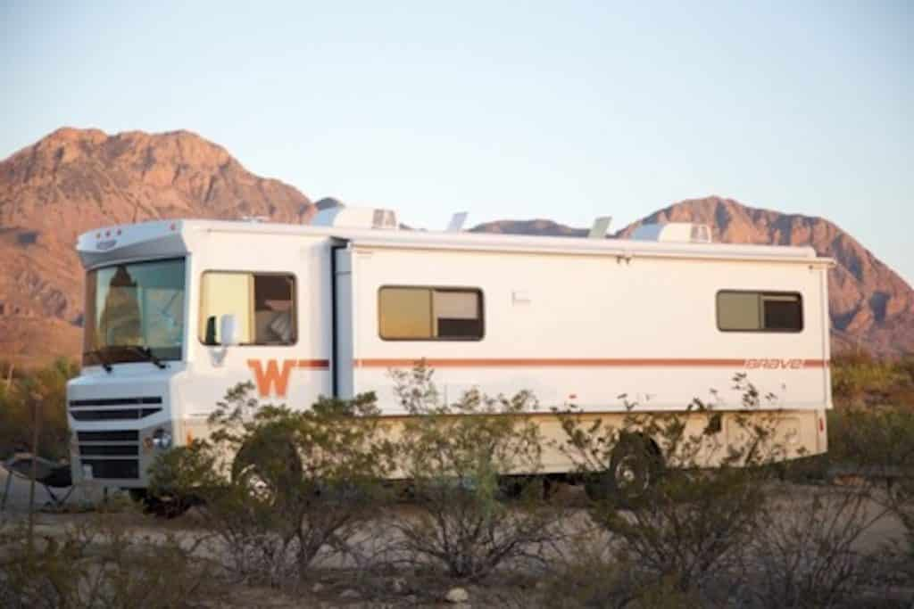 slideouts on an rv