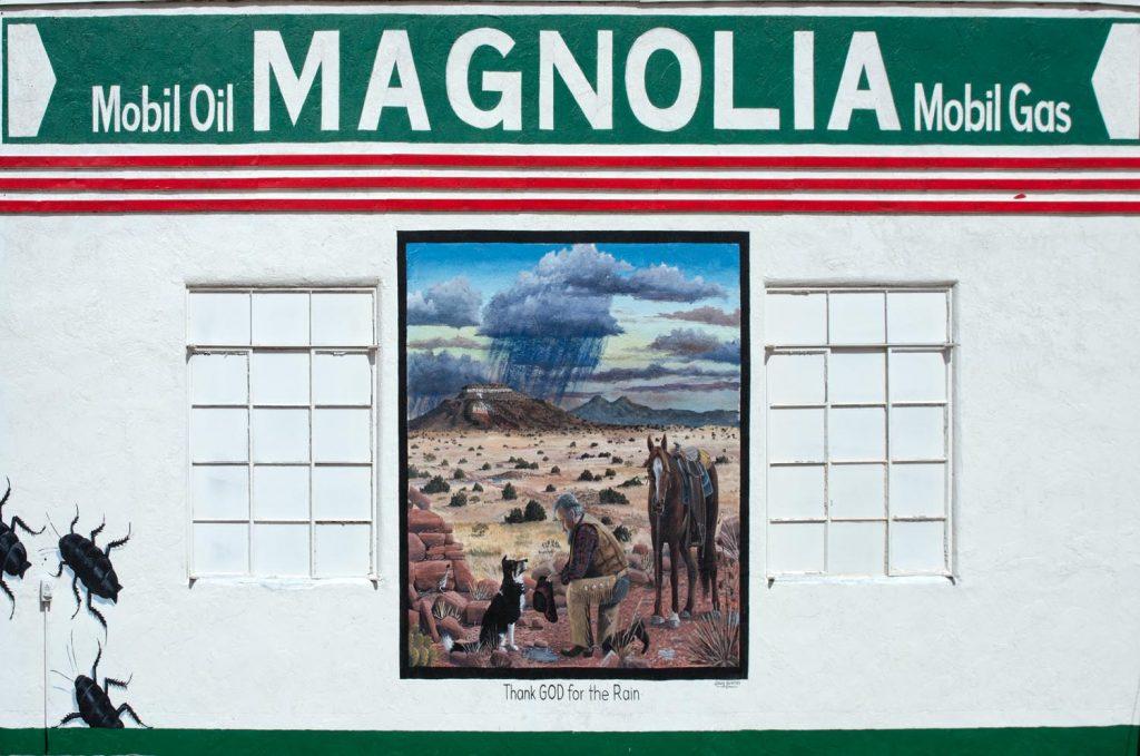 magnolia mobile gas tucumcari new mexico route 66