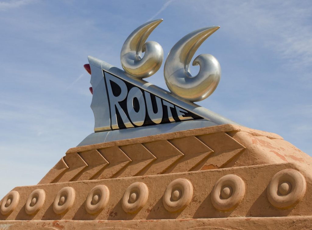 route 66 sculpture eastern new mexico