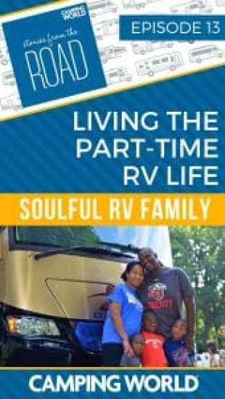 Part-time RV life with Keith Sims of Soulful RV Family