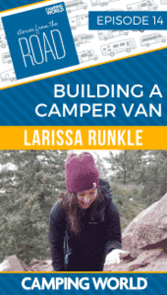 Building a Camper Van with Writer Larissa Runkle