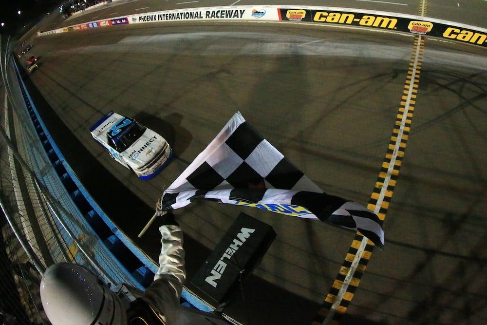 RVing at Phoenix International Raceway