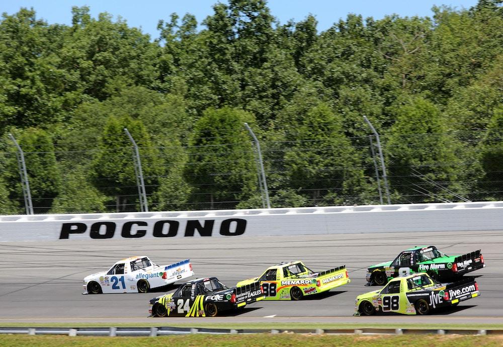 RVing at Pocono Raceway