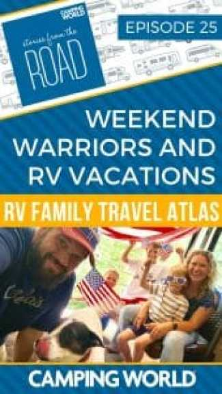 RV Vacations with RV Family Travel Atlas