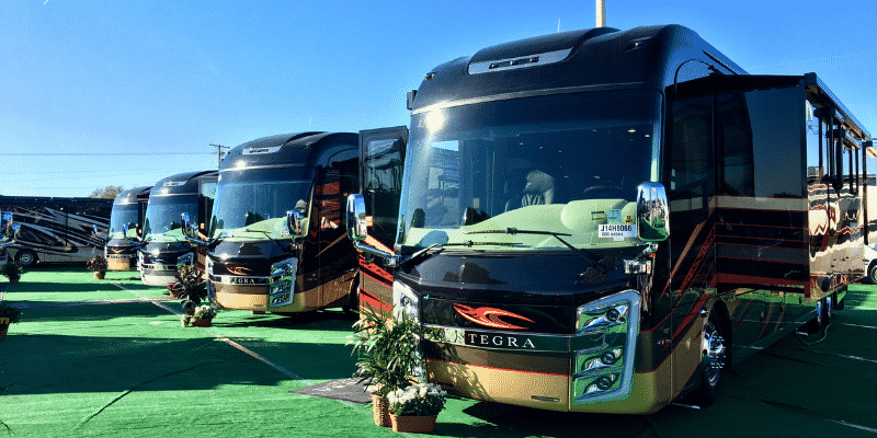 Visiting an RV Show is a terrific way to see a wide variety of RVs in a low pressure environment.