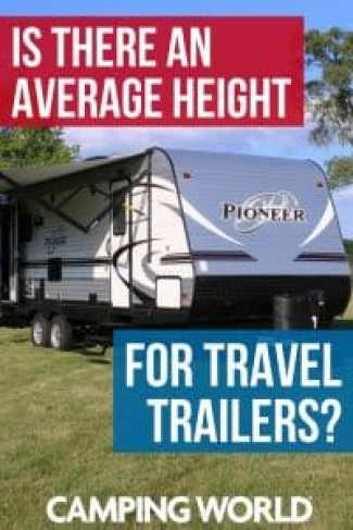 Is there an average travel trailer height