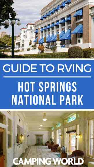 Camping World's guide to Hot Springs National Park