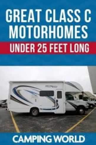 Great Class C Motorhomes Under 25 Feet Long