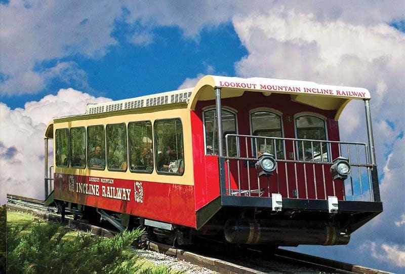 Lookout Mountain Incline Rail Car