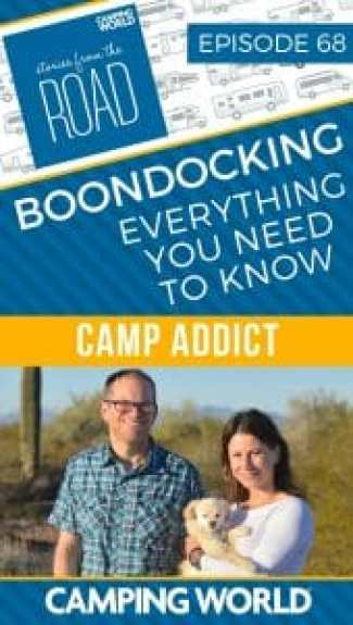 Everything You Need to Know About Boondocking with Camp Addict