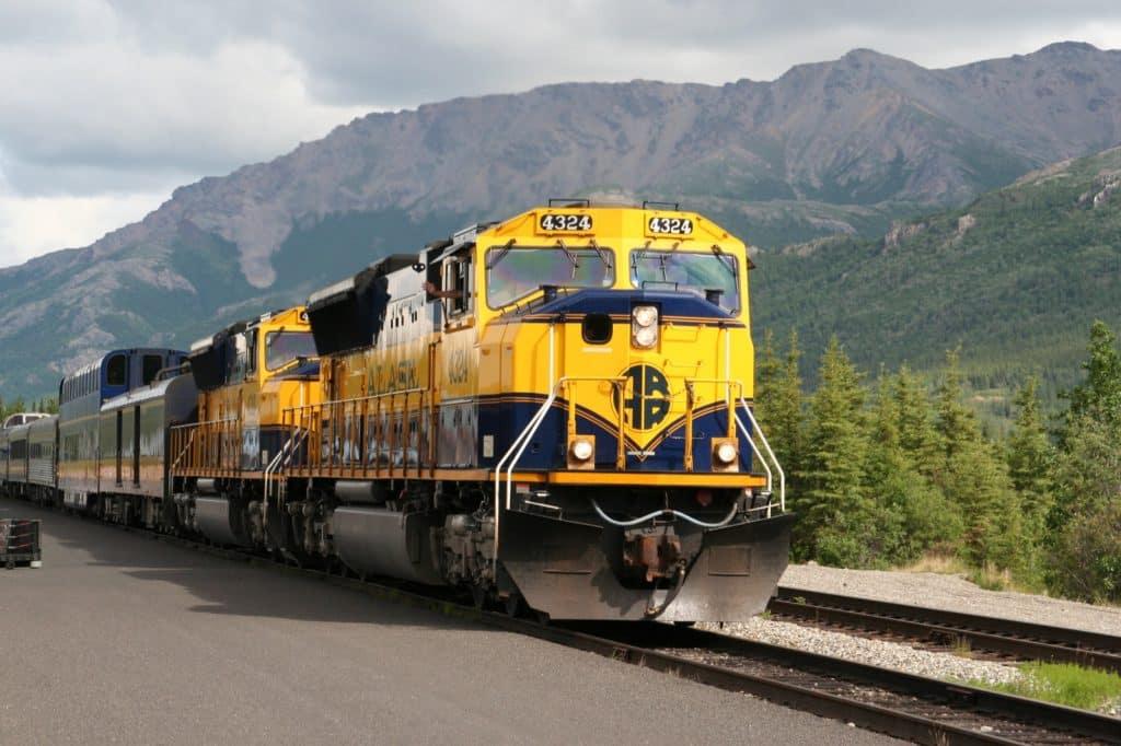 McKinley Express Before Departure