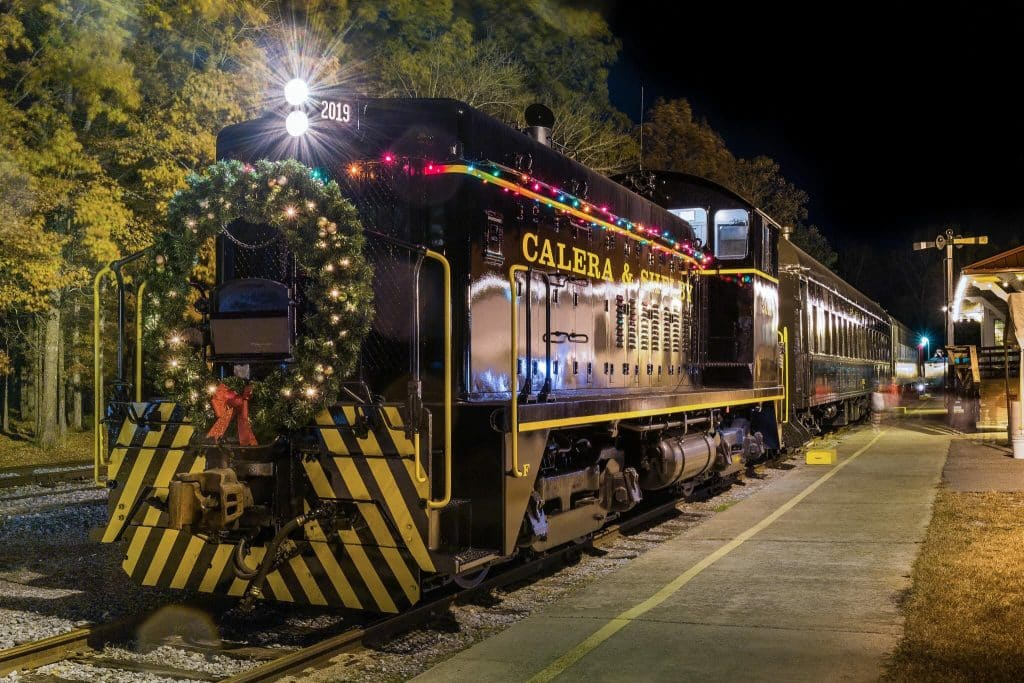 Excursion Trains in Alabama - Heart of Dixie Railroad Christmas Train