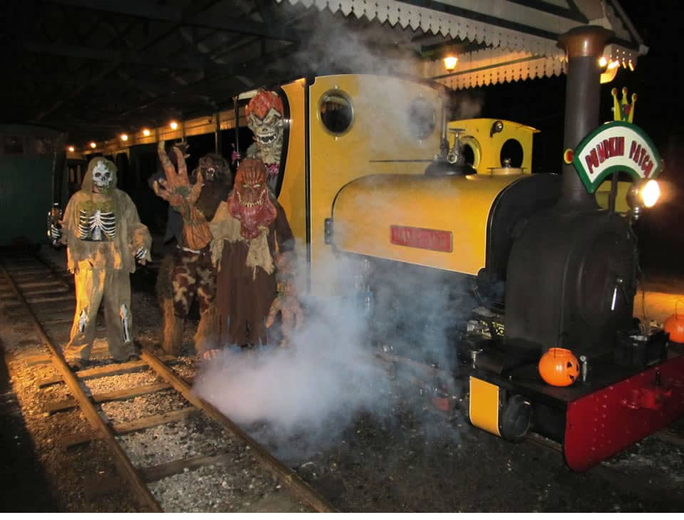 Excursion Trains in Alabama - Wales West Light Rail Halloween Train