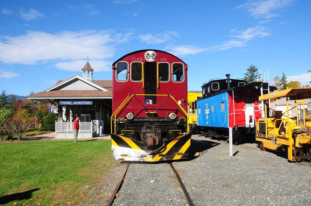Excursion Trains in New Hampshire - Hobo Railroad