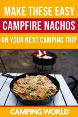 Cook these campfire nachos over the fire