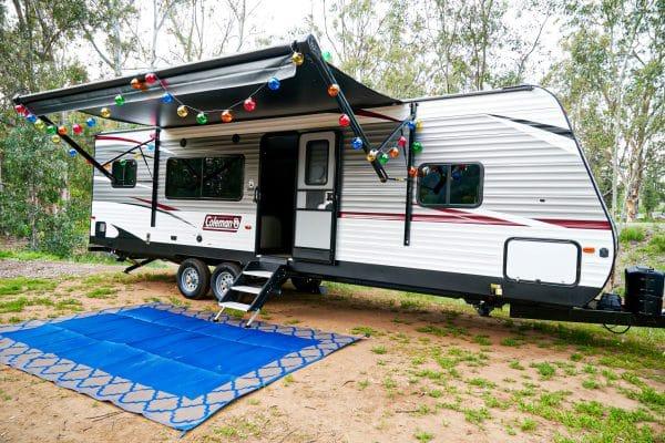 Coleman travel trailer