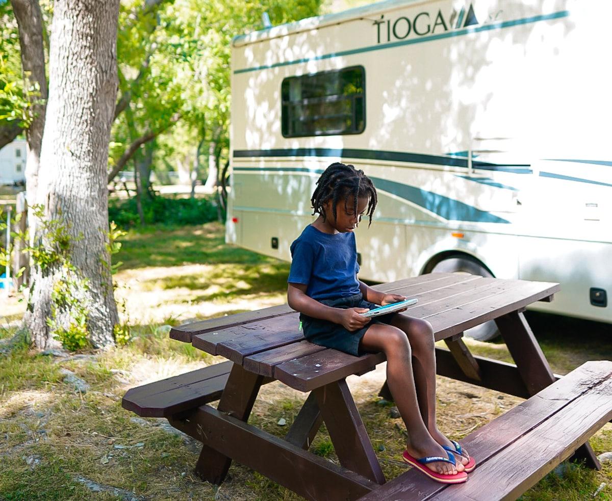 Roadschool Campsite
