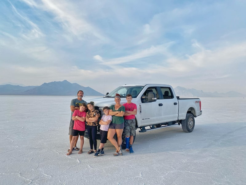 Crazy Family Adventure and their Tow Vehicle