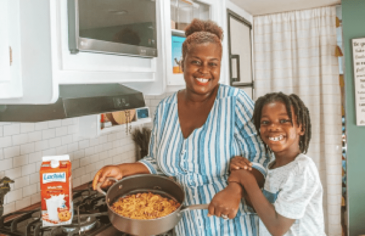 Mom and Son Cook