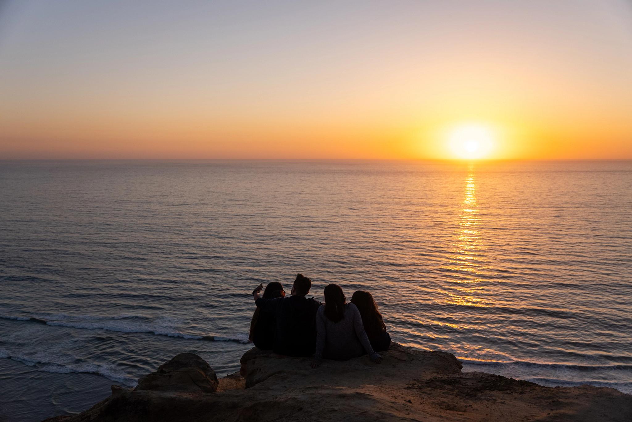 the san diego coast